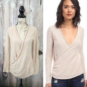 Free People Gotham Wrap Sweater Size Medium